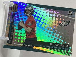 Clayton Thorson (Eagles) 2019 Unparalleled #289