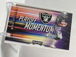 Tim Brown (Raiders) 2017 Playoff Momentum #15