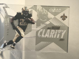 Mark Ingram (Saints) 2015 Panini Clear Vision Clarity #CL-6