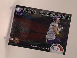 Adam Thielen (Vikings) 2020 Elite Full Throttle Green #21