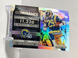 Eric Dickerson (Rams) 2016 Prizm Decade of Dominance  #6
