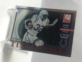 Edgerrin James (Colts) 2001 Donruss Elite Title Waves #TW-10