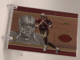 Jeff Garcia (49ers) 2003 Fleer Showcase Jersey #FB-JG