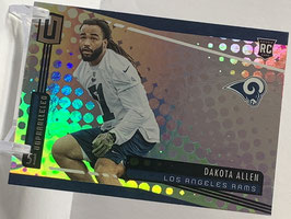 Dakota Allen (Rams) 2019 Unparalleled #285