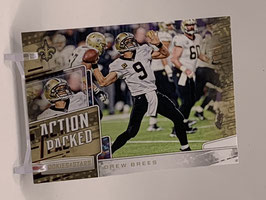 Drew Brees (Saints) 2018 Rookies & Stars Action Packed #AP-9