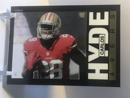 Carlos Hyde (49ers) 2014 Topps 1985 Design #19