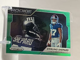 Sterling Shepard (Giants) 2016 Prizm Rookie Introductions Green Prizm #20