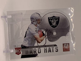 Conner Vernon (Raiders) 2013 Elite Hard Hats Die Cut #83