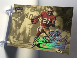 RW McQuarters (49ers) 1999 Fleer Ultra Gold Medallion Edition #232G