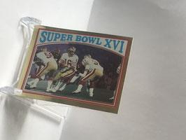 Joe Montana (49ers) 1982 Topps Coming Soon Album Stickers #9