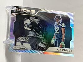 CJ Prosise (Seahawks) 2016 Prizm Rookie Introductions Silver Prizm #16