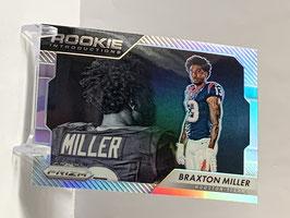 Braxton Miller (Texans) 2016 Prizm Rookie Introductions Silver Prizm #19