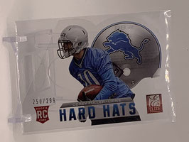 Corey Fuller (Lions) 2013 Elite Hard Hats Die Cut #88