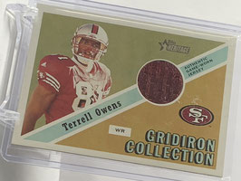 Terrell Owens (49ers) 2002 Topps Heritage Gridiron Collection #GC-TO