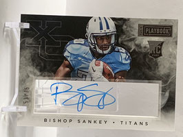 Bishop Sankey (Titans) 2014 Playbook Rookie X's & O's Signatures #XOS-BS