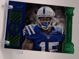Phillip Dorsett (Colts) 2015 Crown Royale Regal Rookie Green #RR16