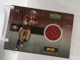 Jeff Garcia (49ers) 2001 Playoff Preferred Preferred Materials #44