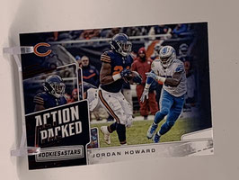 Jordan Howard (Bears) 2018 Rookies & Stars Action Packed #AP-16