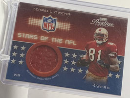 Terrell Owens (49ers) 2002 Prestige Stars of the NFL #SN-17
