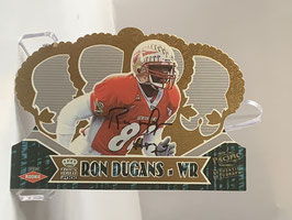 Ron Dugans (Florida State/ Bengals) 2000 Pacific Crown Royale Rookie Autographs #120