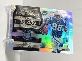 Marvin Harrison (Colts) 2016 Prizm Decade of Dominance  #12