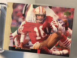 Joe Montana (49ers) 1995 Upper Deck Joe Montana Box Set #15