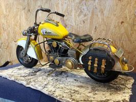 Motorrad gelb