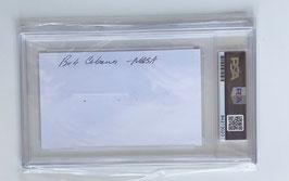 Robert Cabana, signed Card, PSA certified