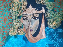 Orientalisch 1: Frau mit Kopfschmuck