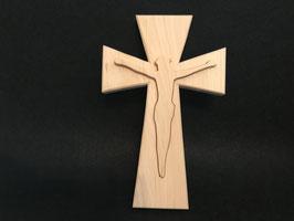 Zirbenkreuz mit Christus