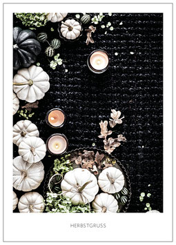 """Karte """"Herbstgruess"""""""