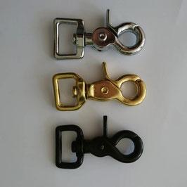 6. Schritt GASSI-/PUTZTASCHE - Farbe Karabiner/ Ringe