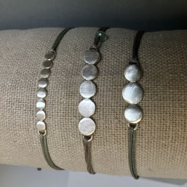 Plättchen Armband