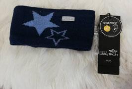 Kopfbedeckung - Stirnband mit blauem Stern - Windprofi - NAME IT MINI BOY