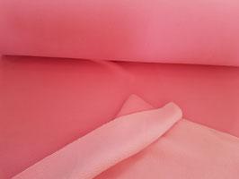 Doubleface Fleece rosa/ pink