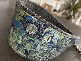 Halsband NIGHT BLUE, 38cm Halsweite