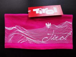 Topografie Stirnband pink