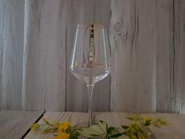 Weinglas  handbemalt