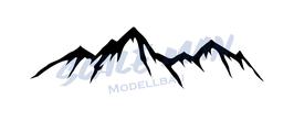 Aufkleber Berg Motiv 4 (2 Stück)
