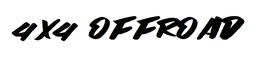 """Aufkleber """" 4x4 Offroad"""" (2 Stück)"""