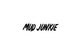"""Aufkleber """"MUD JUNKIE"""""""