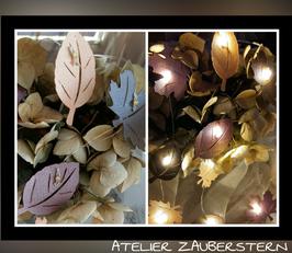 LED-Lichterkette Herbstblätter