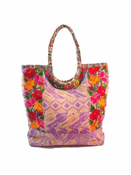 """Gypsie, Hippie, Boho Handtasche """"Lila"""" aus Mexiko"""