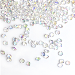 Tischdekoration, Diamanten