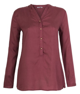 Bluse Nila wine red
