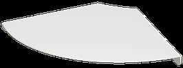 Étagère d'angle blanche RodYa R 31,5 cm