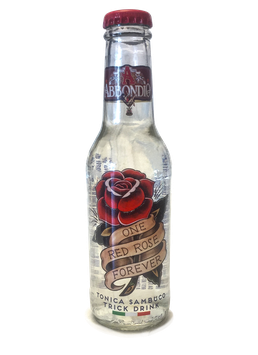 "Sambuco Trick Tonic ""One red rose forever"""