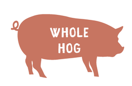 Whole Hog - $3.50/lb Hanging Weight Plus Cut and Wrap - $200 deposit