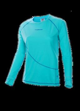 Trango camiseta manga larga SEIRA  5G0-Azul turquesa/azul oscuro