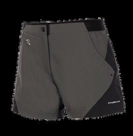 Trango Pantalón corto ORES sombra oscura/negro-7B0